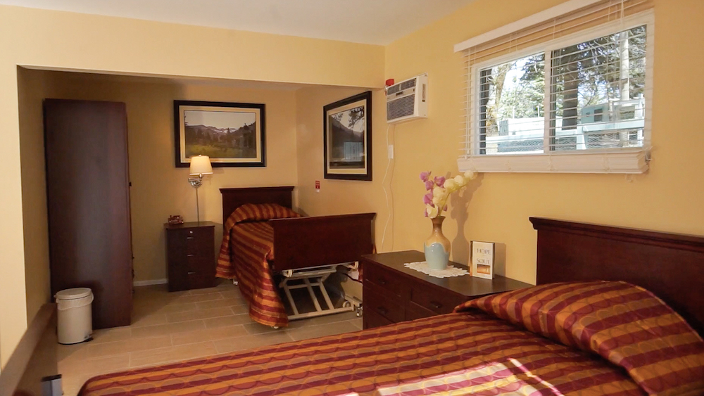 Pacific Pines residential care bedrooms